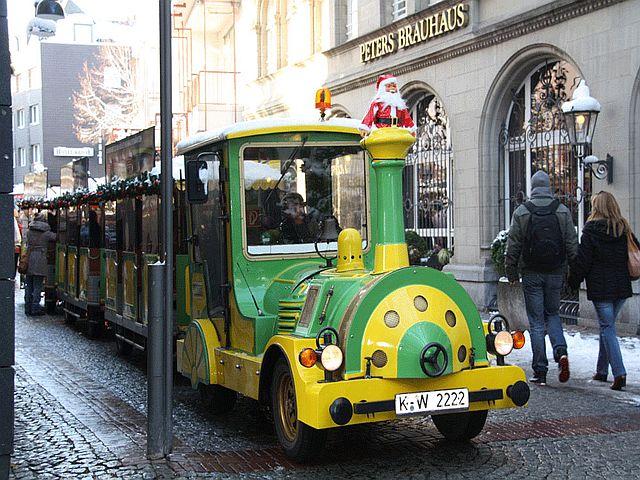 Kölner Weihnachtsmarktexpress Bilder Wolters Bimmelbahnen 1 - Kölner Weihnachtsmarkt-Express