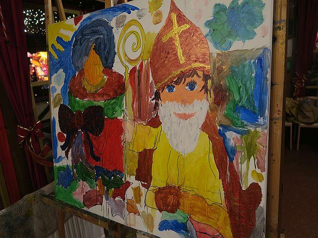 Weihnachtsmarkt Köln mit Familien Nikolausdorf Rudolfplatz4 - Schön für Kinder: das Nikolaushaus im Nikolausdorf