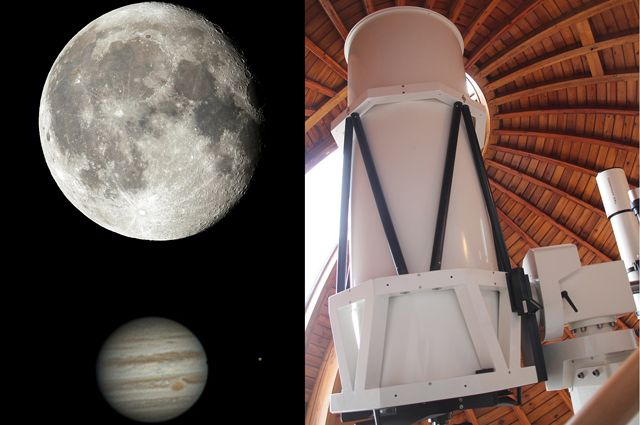 Sternwarte Collage Astronomietag - TOP-Freizeitideen fürs Wochenende 18.-20. März
