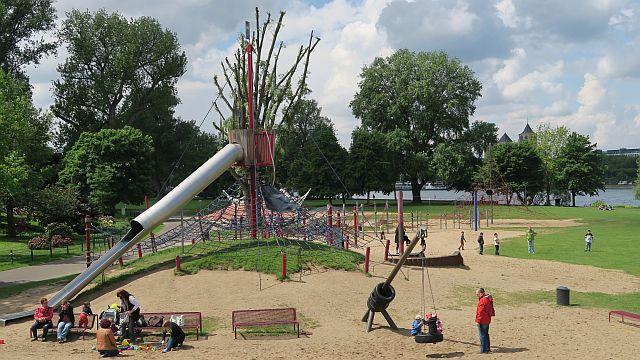 Köln Rheinpark Köln mit Kind 17kl - Top 10 für Familien im Rheinpark
