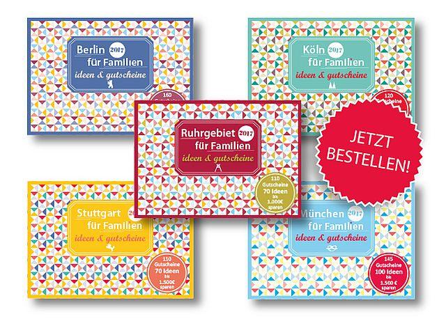 Familiengutscheinbücher Bild für Beitrag - Gutscheinbücher für Familien