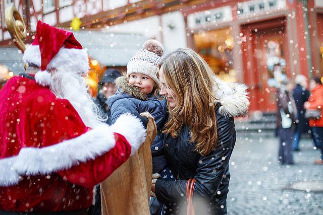Nikolaus - Mama, wo treffen wir den Nikolaus?