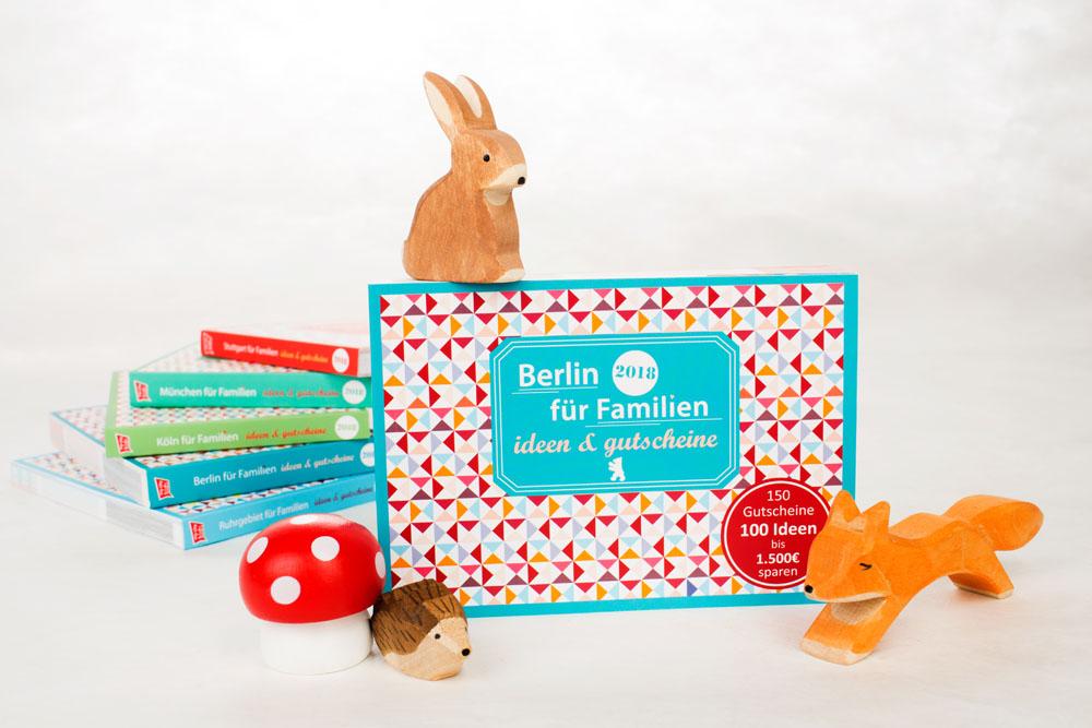 Gutscheine Berlin für Familien - Gutscheinbuch Ideenbuch