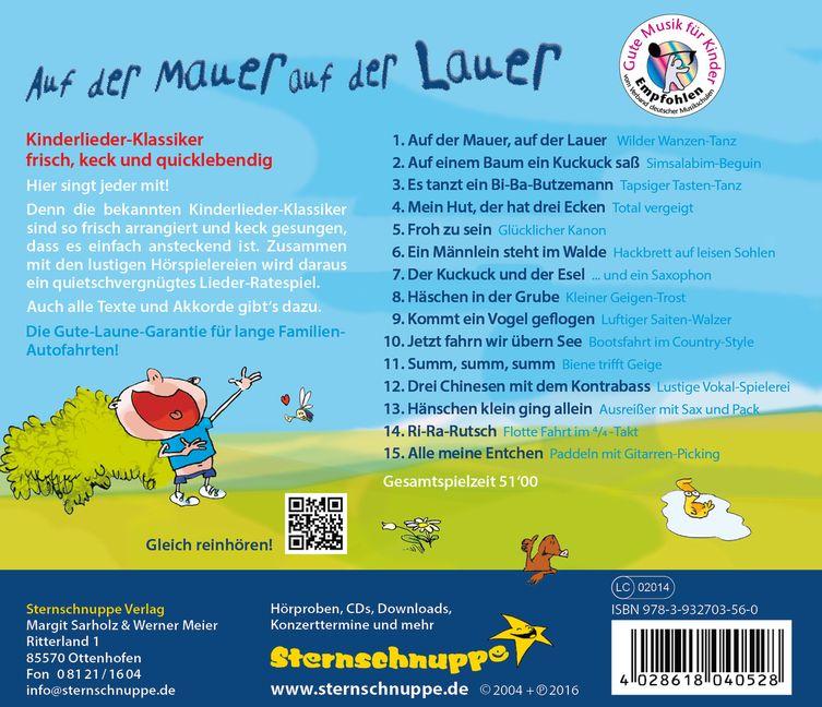 Auf der Mauer auf der Lauer CD