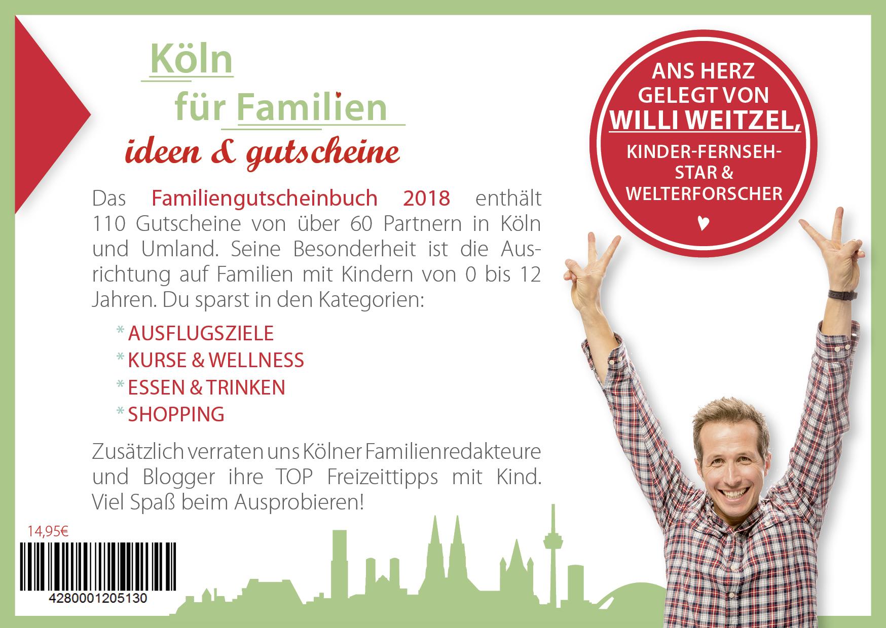 Familien Gutscheinbuch Cover Kîln Rueckseite 2 - Gutscheinbuch Köln 2018