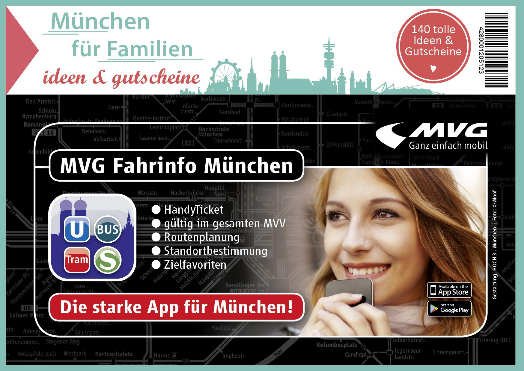 Familien Gutscheinbuch Cover MÅnchen Rueckseite - Gutscheinbuch München für Familien