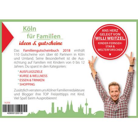Familien-Gutscheinbuch Köln Cover Rückseite
