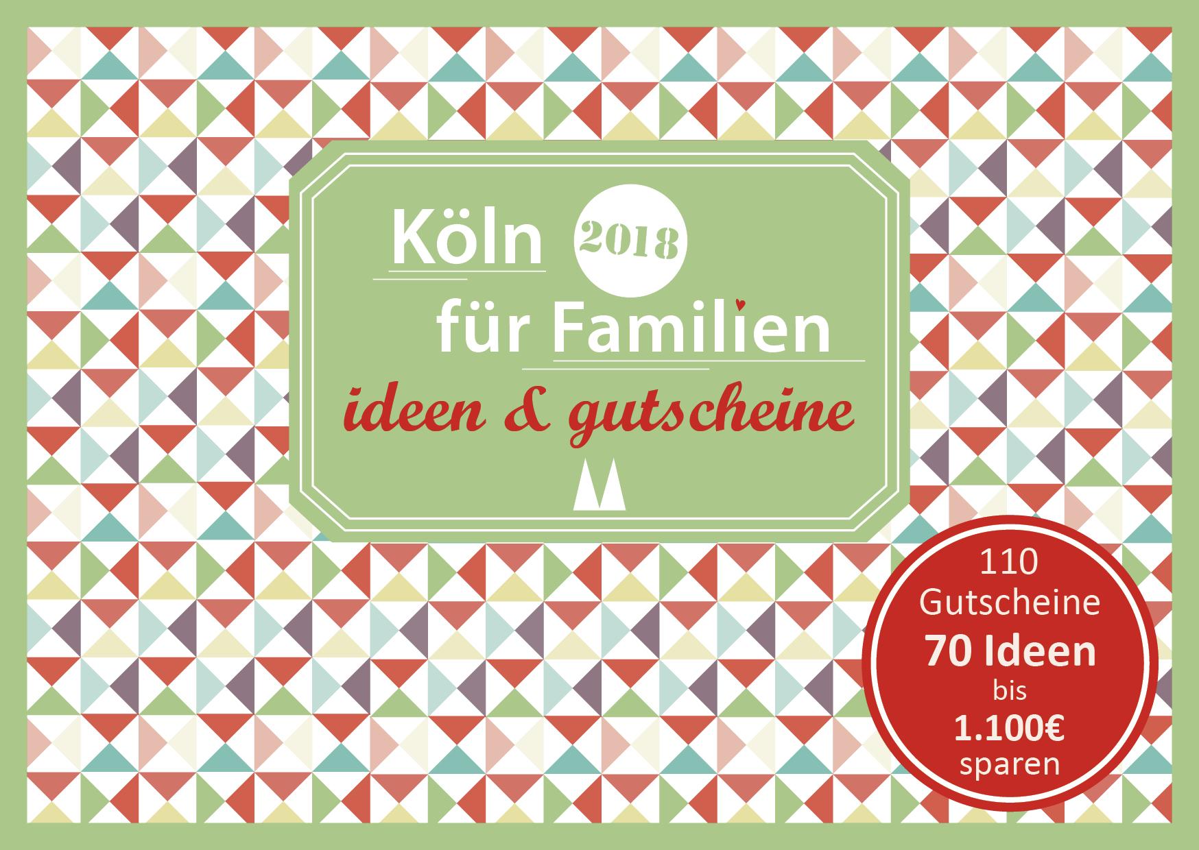 Familien Gutscheinbuch Koeln Cover 2018 final 1 - Gutscheinbuch Köln 2018