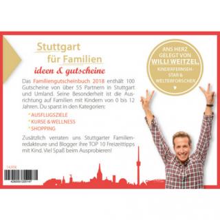 Gutscheinbuch Stuttgart Familiien
