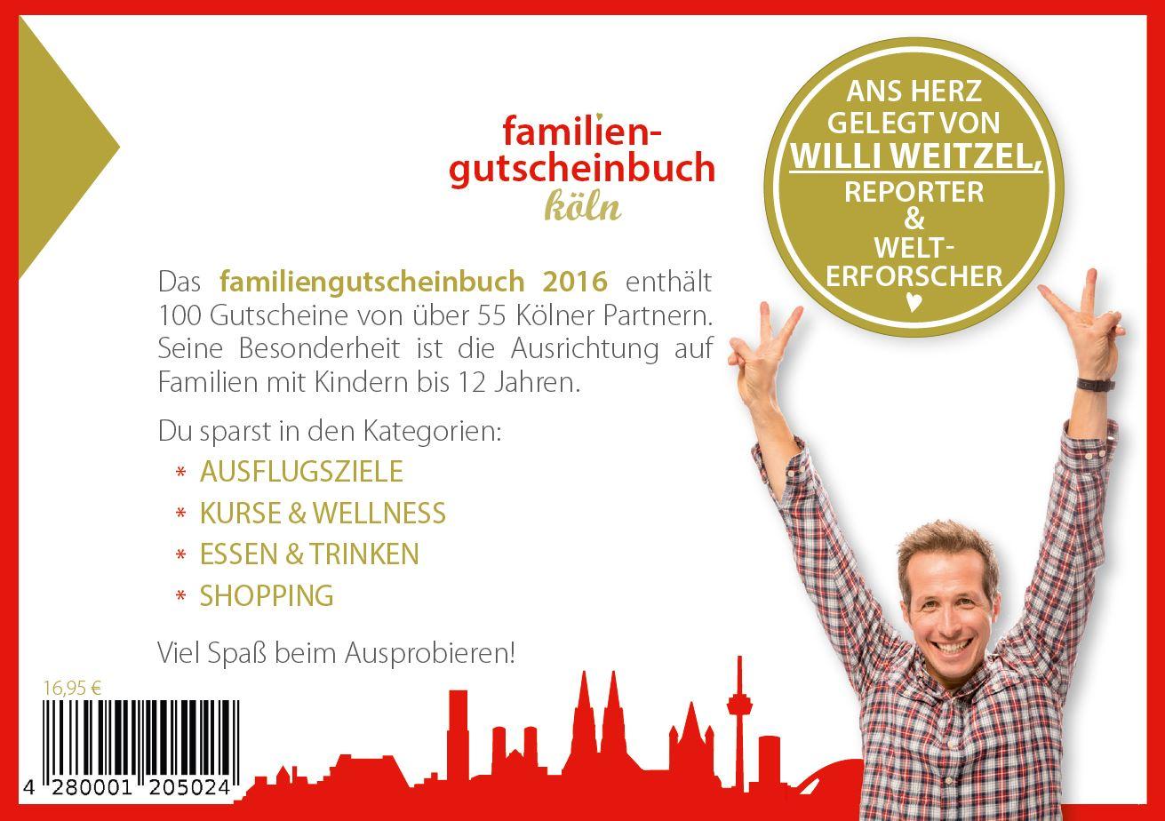 """4280001205024 1 - Mit """"Familiengutscheinen"""" bei Freizeitaktivitäten und Cafes sparen"""