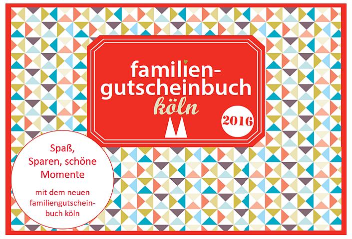 Köln mit Kindern 3 - familiengutscheinbuch köln 2016 mit Gewinnspiel