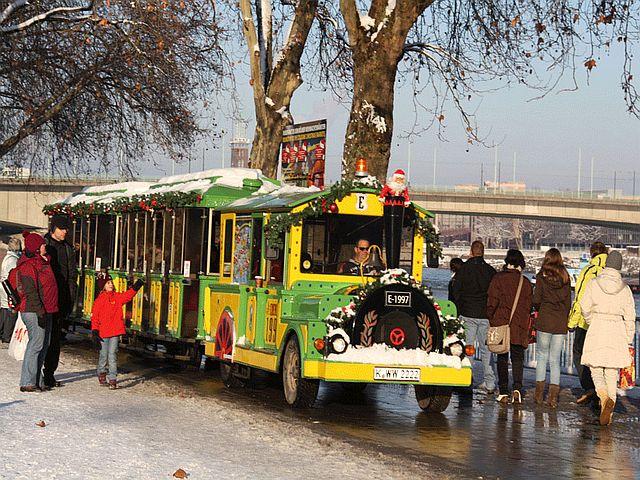 Kölner Weihnachtsmarktexpress Bilder Wolters Bimmelbahnen - Kölner Weihnachtsmarkt-Express
