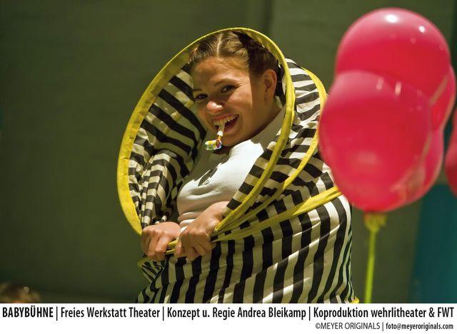 Freies Werkstatt Theater BabyBuehne2 cMEYER ORIGINALS - Kindertheater DIE AMPELMAUS im FWT Köln