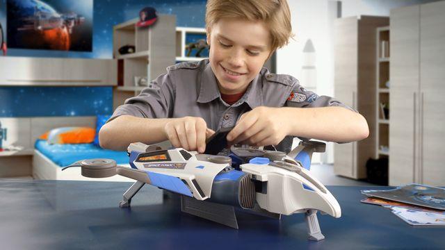 Ravensburger Kinderspiele Raumschiff Space Hawk Verlosung Köln 2 - Cooles Raumschiff für Schulkinder