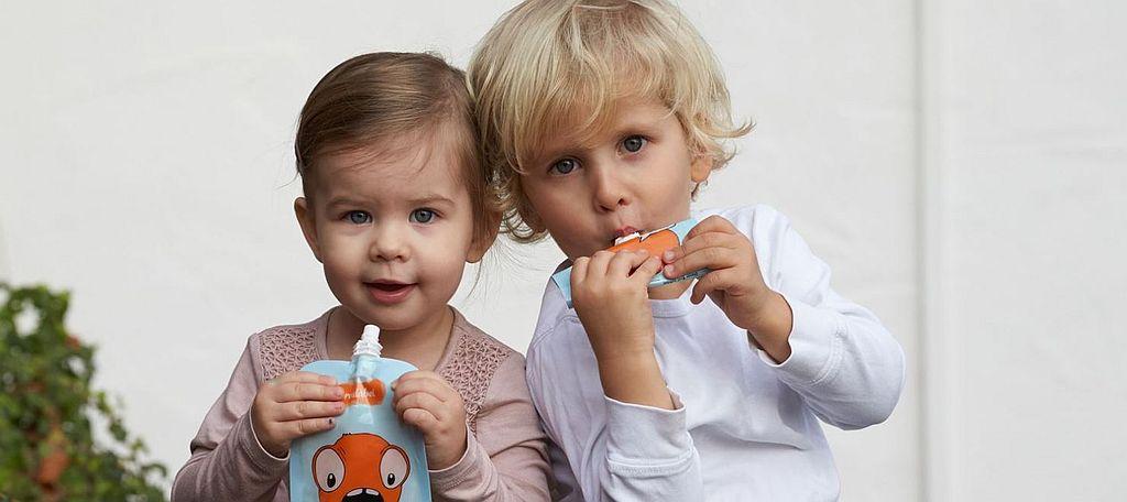 Breidabei Quetschie 2 Kinder - City Kids testet: Breidabei + 5 Breidabei-Beutel zu gewinnen