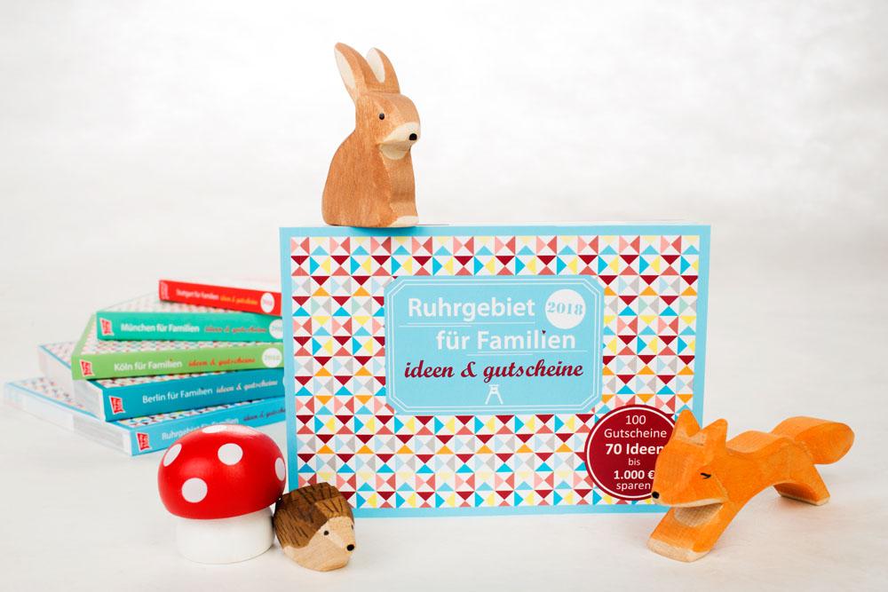 Gutscheinbuch Ruhrgebiet für Familien mit Kindern - Familiengutscheinbuch - Ruhrgebiet für Familien