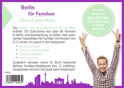 Gutscheinbuch Familien Berlin