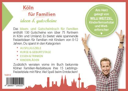 Gutscheinbuch Köln für Familien 2019