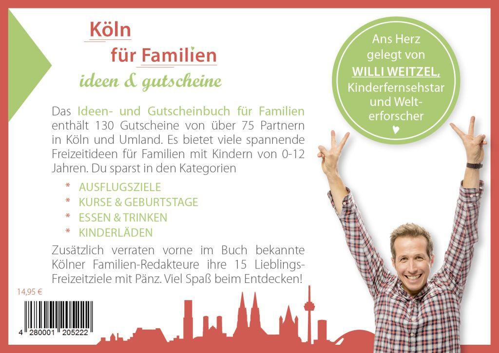 Gutscheinbuch Köln für Famillien back - Gutscheinbuch Köln 2019