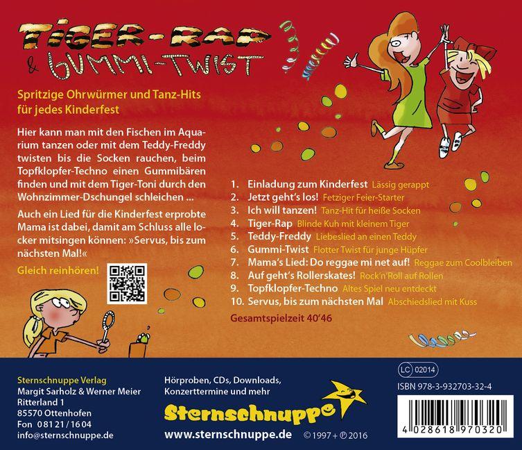 Tiger Baer CD