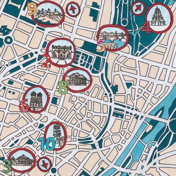 München to Go_Buch Stadtplan
