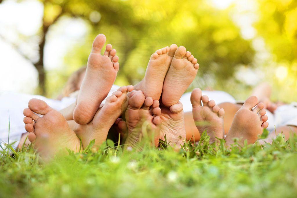 Füße klein - Reisetipps mit Baby und Kindern
