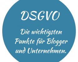 DSGVO Regeln Datenschutzgrundverordnung