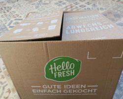 Hello Fresh Lieferung