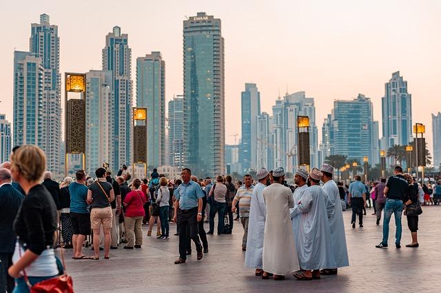 downtown 4045037 640 Olga Ozik Dubai - Reisezeit Herbstferien - Sonne statt Wind und Regen
