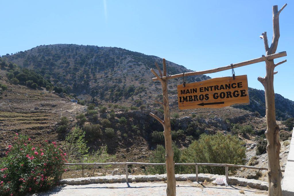 Kreta Imbros Schlucht 1 klein - Kreta mit der Familie
